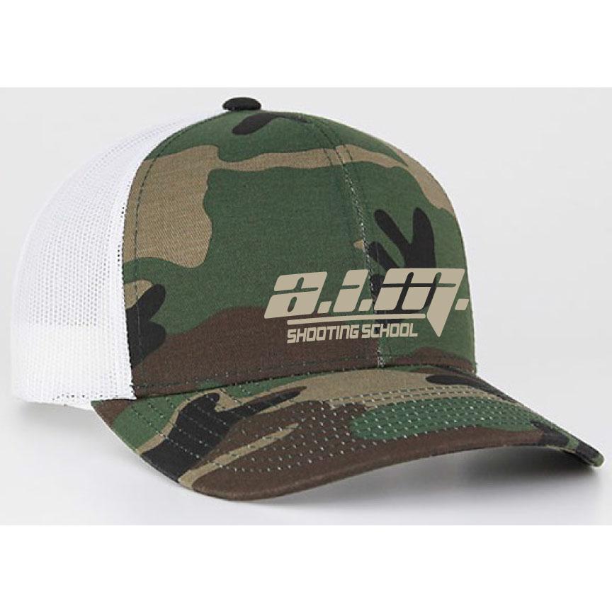 Embroidered Camo Hat  49dcb07ec8e
